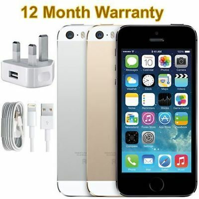 New & Sealed Apple iPhone 5S 16GB 32GB 64GB Factory Unlocked iOS Smartphone