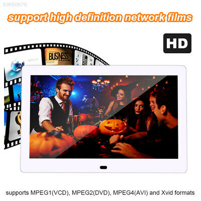 FF49 Durable Digital Photo Frame Electronic Picture Player Stand Ultra-Thin LCD