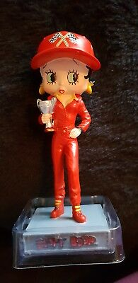 "5"" Betty Boop Racing Driver Figurine"