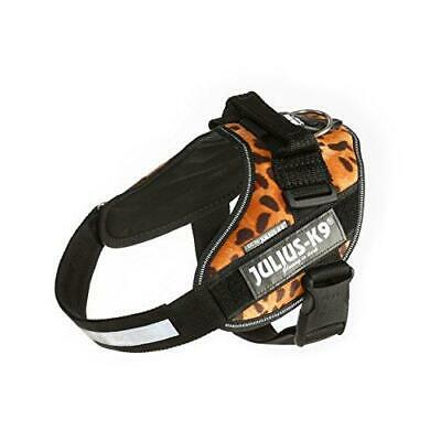 Julius-K9 16IDC-LEO-0 IDC Powerharness, Dog Harness, Size 0, Leopard