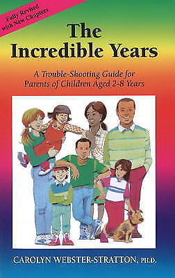 The Incredible Years - New Book Webster-Stratton, Carolyn
