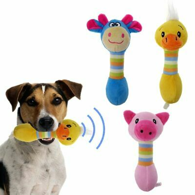 Chewing Toys Animal-Shaped For Pet Puppy Dog Plush Sound Squeaker Non-toxic Safe