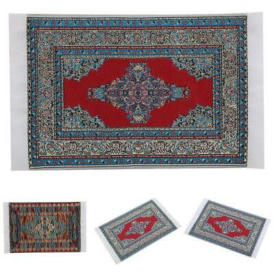 1:12 Doll House Accessories Floor Decoration Mini Turkish Carpet for Baby Gift