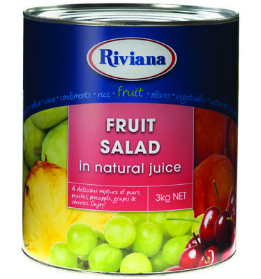Riviana Fruit Salad South African 3kg