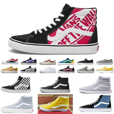 UK Classic Van s OLD SKOOL Low Top Casual Canvas Sneakers For MENS WOMENS Shoes