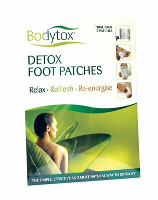 Bodytox Detox Foot Patches Trial Pack 2 Patches