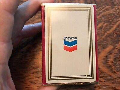 CHEVRON Vintage Set Of Unopened Congress Playing Cards