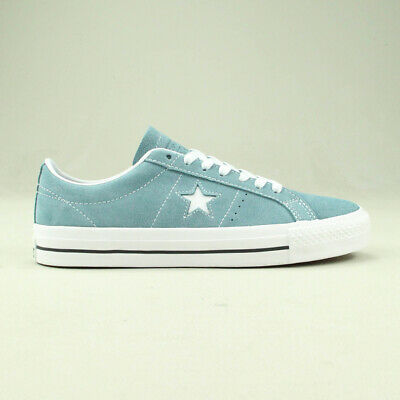 9326cfcdc774 Converse One Star Pro Ox Trainers Shoe in Washed Blue in UK size 6
