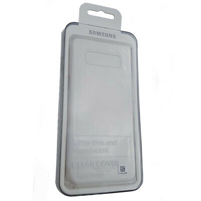 Original Samsung Galaxy Note 8 Clear Cover Case Handy Hülle Transparent EF-QN950