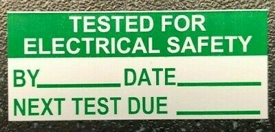 Pat Test Labels Portable Appliance Test Passed Stickers