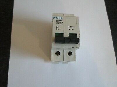 Protek 100 Amp Iss-100/2 Double Pole Main Switch Isolator(Smaller)