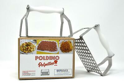 poldino polpettino foro 13 mm 357675