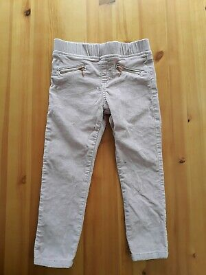 F&F Kids girls 3-4 years trousers Pale Pink