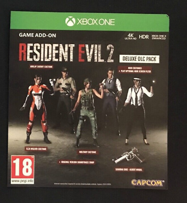 Resident Evil 2 Remake Xbox One Deluxe DLC