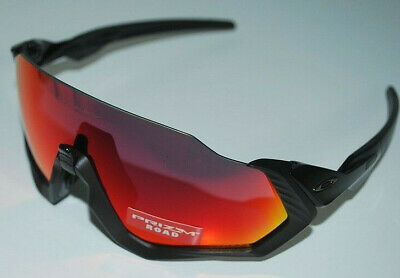 4afd8a5c7ae1 NEW OAKLEY FLIGHT JACKET Sunglasses OO9401-0137 MATTE BLACK / PRIZM ...
