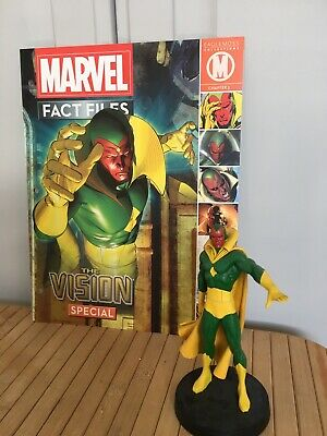 Eaglemoss  Marvel Fact file collection. The VISION Special figure and magazine