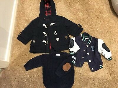 Large Baby Boy Clothes Bundle 0-3 Months - See Photos