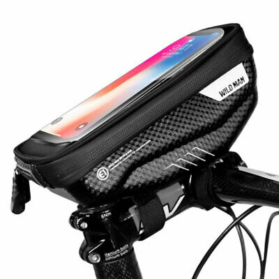 MTB Bicycle TRU Sensective Touch Screen Rainproof Front Frame Pouch Top Tube Bag