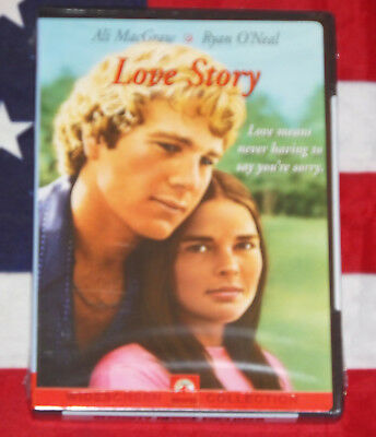 NEW Love Story (DVD, 1970) Ryan O'neal, Ali Macgraw, SEALED