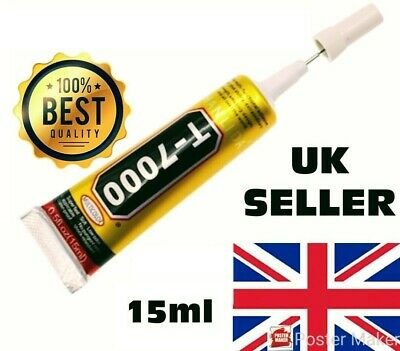 Mobile Phone Glue Adhesive Industrial Strength T7000 T-7000 15ml Craft