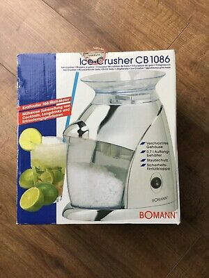 Brand New & Unused Bomann Ice Crusher CB1086 - Cocktails / Slush / Home Bar