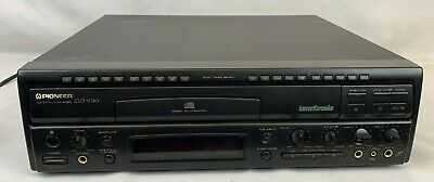 Pioneer CLD-V740 Laser Karaoke CD CDV Laser Disc Player Tested EB-1236