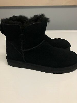 d6a3cc1a33f KOOLABURRA UGG CLASSIC Mini Winter Suede Boot 1015209 Women's US 6