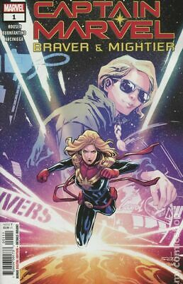 Captain Marvel Braver And Mightier Marvel 1A 2019