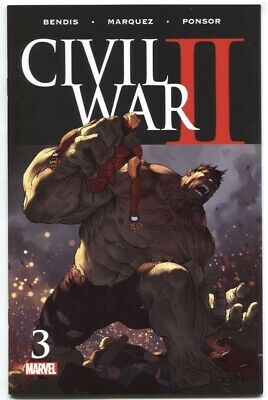 Civil War Ii #3 1St Print Death Of Bruce Banner Hulk Marvel Comics