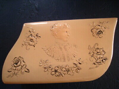Unusual Vintage Antique Victorian Celluloid French Ivory Vanity Dresser BOX