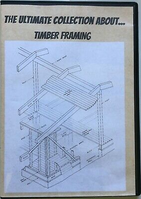 The Ultimate Collection about Timber Framing on CD Vintage Books in PDF Format