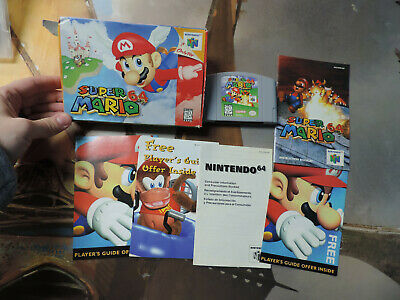 SUPER MARIO 64 Complete Authentic Nintendo 64 Game Tested & Working N64
