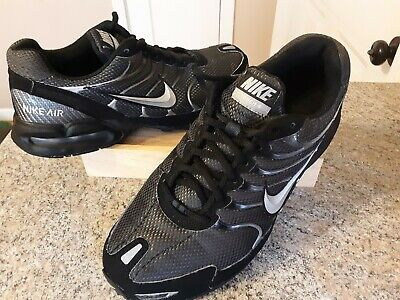 bbae1b7734 Nike Air Max Torch 4 Men's Running Shoes 343846-002 Size 8 Black Silver GUC