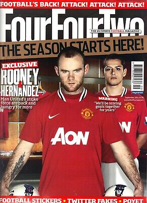 Four Four Two Soccer Magazine. 15 issues
