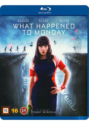 What Happened to Monday NEW Cult Blu-Ray Disc Tommy Wirkola Noomi Rapace