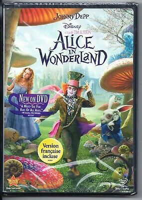 Alice in Wonderland (DVD, 2010) - NEW