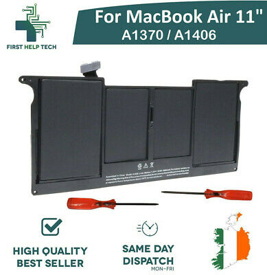 """For MacBook Air 11"""" A1370 2011 Genuine Replacement Battery A1406 4680mAh New"""