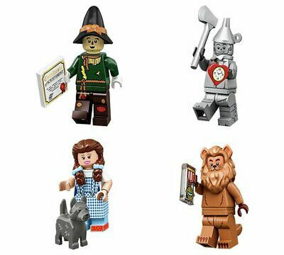 LEGO The Lego Movie 2 Minifigure series 71023 - Set of 4 Wizard of Oz - NEW