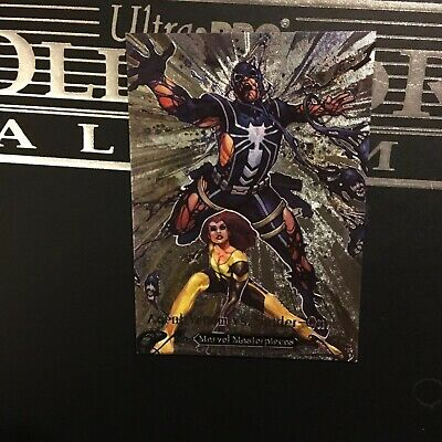 2018 Marvel Masterpieces AGENT VENOM vs. SPIDER-QUEEN Battle Spectra BS-4