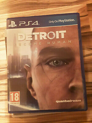 Detroit: Become Human (Sony PlayStation 4, 2018) PS4