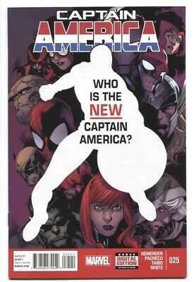 Captain America (2013) #25 1St App Of Sam Wilson As Captain America Nm