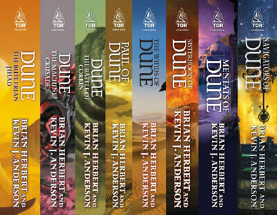 DUNE 20 Audiobook Collection by Frank Herbert (Mp3)