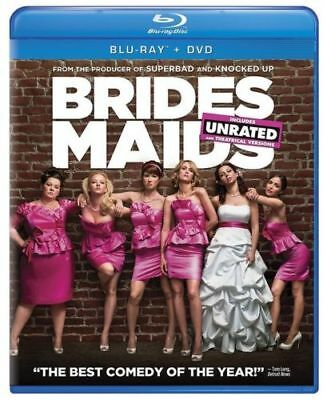 Bridesmaids: Blu-ray + DVD, 2-Disc Combo Pack, Unrated/Rated Edition, New Sealed