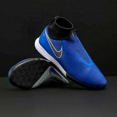 a87b103f4  160 Nike React Phantom Vision Pro DF IC Indoor Soccer Shoes  Blue-Black-Silver