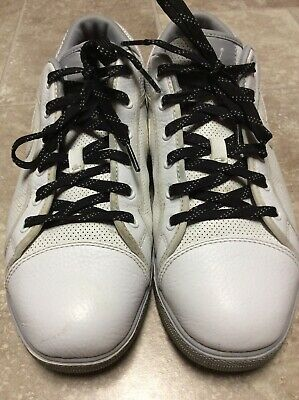 595539e1b46654 Jordan Sky High Low Basketball Shoes 454076 110 White Grey Men s Size US  10.5