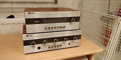 Leak Delta 30 Stereo Integrated Amplifier + Leak Delta FM Tuner
