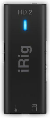 IK Multimedia iRig HD 2 Guitar Interface for iPhon