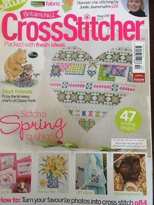Cross Stitcher Magazine Issue 209