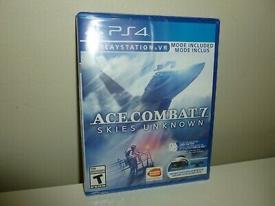 Ace Combat 7 Skies Unknown Sony Playstation 4 2019 PS4 PSVR PS VR new sealed