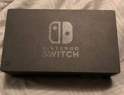 Genuine Nintendo Switch Charging Dock + AC Adapter Power Cable OEM Set